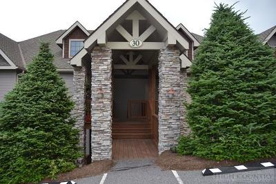 The Reserve At Sugar Mountain Condo/Townhouse For Sale: 983 Craggy Pointe #30 B