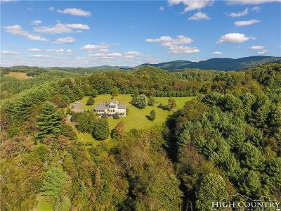 Ashe County Single Family Home For Sale: 1352 Deep Ford Road