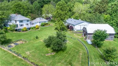 Alexander County, Ashe County, Avery County, Burke County, Caldwell County, Watauga County Single Family Home For Sale: 1552/1582 Broadstone Road