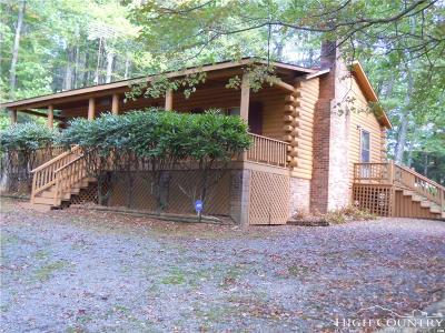 Ashe County Single Family Home For Sale: 362 Thistle Hill Lane