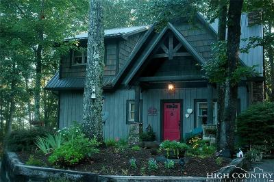 Ashe County Single Family Home For Sale: 375 Stone Crest Drive