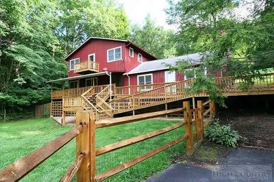 Avery County Single Family Home For Sale: 663 John Erwin Road