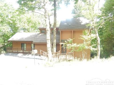 Beech Mountain Single Family Home For Sale: 116 Lakeledge