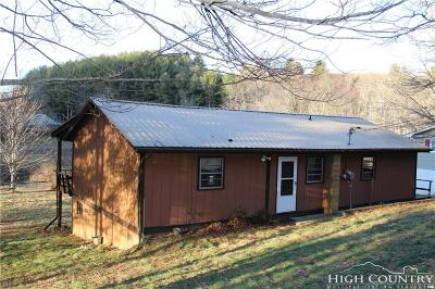 Caldwell County, Alexander County, Watauga County, Avery County, Ashe County, Burke County Single Family Home Under Contract - Show: 325 River Lane
