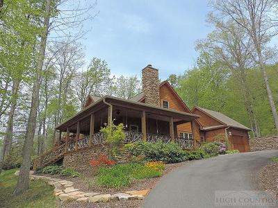 Avery County Single Family Home For Sale: 790 Black Bear Trail