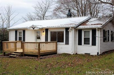 Ashe County Single Family Home For Sale: 1284 Big Springs Road