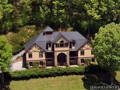 Ashe County Single Family Home For Sale: 3910 Bald Mountain Road