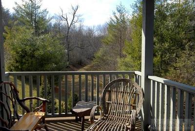 Watauga County Condo/Townhouse For Sale: 165 Rippling Brook Way #Alleghen