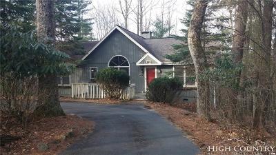 Watauga County Single Family Home For Sale: 739 Pine Ridge Road