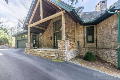Watauga County Single Family Home For Sale: 120 Pinnacle Drive