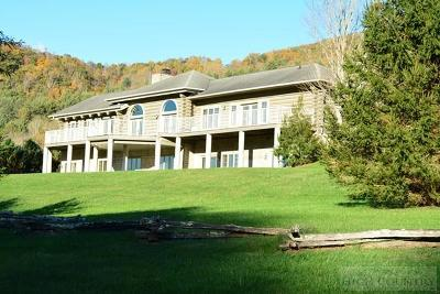 Watauga County Single Family Home For Sale: 255 New Farm Road