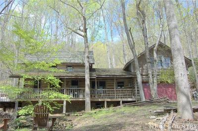 Ashe County Single Family Home For Sale: 217 Quiet Place