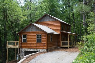 Ashe County Single Family Home For Sale: 225 Laurelwood Drive