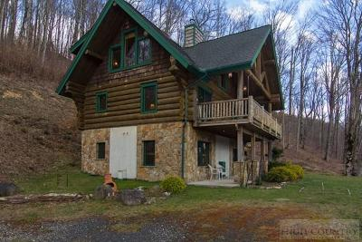 Alexander County, Ashe County, Avery County, Burke County, Caldwell County, Watauga County Single Family Home For Sale: 43 Yellow Mountain Road