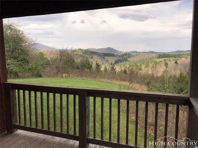 Ashe County Single Family Home For Sale: 102 Hill Top Lane