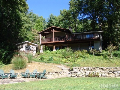 Lake Toxaway Single Family Home For Sale: 251 Island Point Road