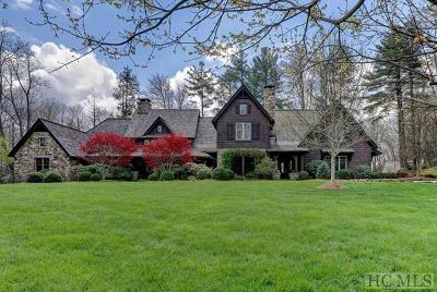 Cashiers, Glenville, Sapphire, Highlands, Scaly Mountain Single Family Home For Sale: 361 Cross Creek Trail