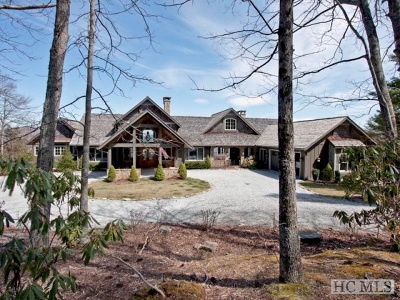 Cashiers, Glenville, Sapphire, Highlands, Scaly Mountain Single Family Home For Sale: 286 Rhody Lane