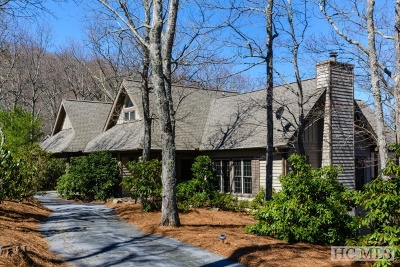 Lake Toxaway Single Family Home For Sale: 1655 Toxaway Drive