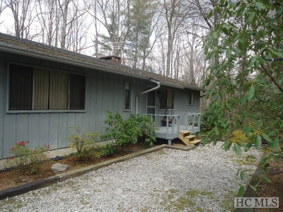 Cashiers Single Family Home For Sale: 156 Timber Ridge Drive