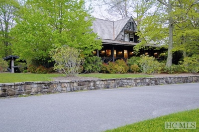 Cashiers, Glenville, Sapphire, Highlands, Scaly Mountain Single Family Home For Sale: 170, 188 High Pasture Road