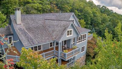 Cashiers, Glenville, Sapphire, Highlands, Scaly Mountain Single Family Home For Sale: 1693 Chimneytop Trail