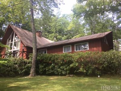 Highlands NC Single Family Home Sale Pending: $245,000