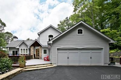 Cashiers, Glenville, Sapphire, Highlands, Scaly Mountain Single Family Home For Sale: 150 West Knoll Drive