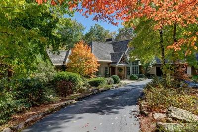 Cashiers, Glenville, Sapphire, Highlands, Scaly Mountain Single Family Home For Sale: 167 Silver Springs Road