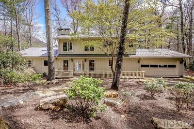 Lake Toxaway Single Family Home For Sale: 247 North Club Blvd