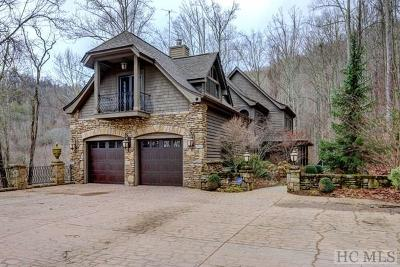 Cashiers, Glenville, Sapphire, Highlands, Scaly Mountain Single Family Home For Sale: 869 Big Buck Road
