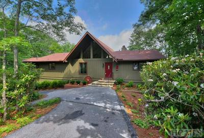 Wildcat Ridge Single Family Home For Sale: 1539 Whiteside Mountain Road