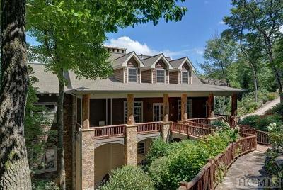 Cashiers, Glenville, Sapphire, Highlands, Scaly Mountain Single Family Home For Sale: 193 Highlands Point