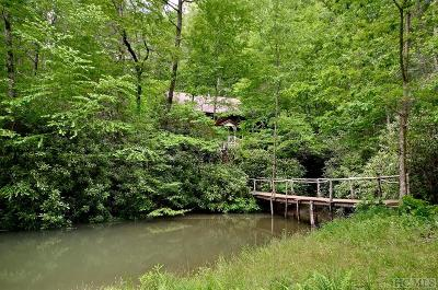 Cashiers Single Family Home For Sale: 20 Beaver Bridge Road
