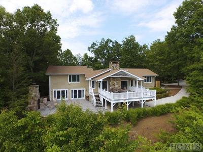 Cashiers, Glenville, Sapphire, Highlands, Scaly Mountain Single Family Home For Sale: 976 Blue Valley Road
