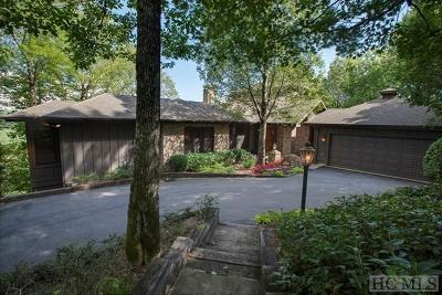 Cashiers, Glenville, Sapphire, Highlands, Scaly Mountain Single Family Home For Sale: 37 Bonnevista Road