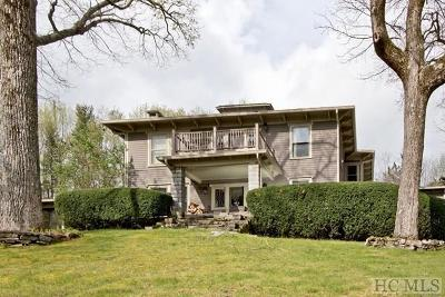 Cashiers, Glenville, Sapphire, Highlands, Scaly Mountain Single Family Home For Sale: 267 Satulah Road