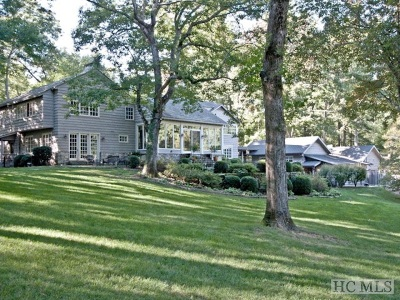 Cashiers, Glenville, Sapphire, Highlands, Scaly Mountain Single Family Home For Sale: 81 South Old Wahalla Road