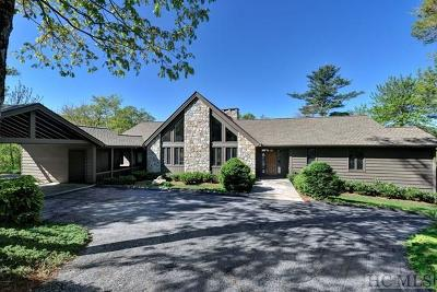 Wildcat Cliffs CC Single Family Home For Sale: 495 Whiteside Mountain Road