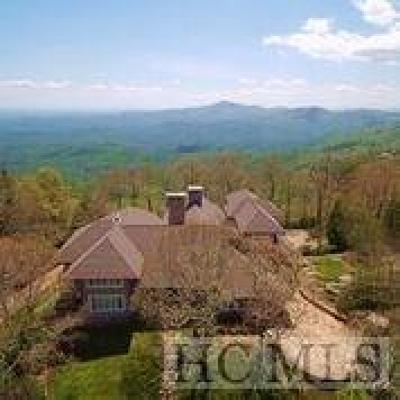 Cashiers, Glenville, Sapphire, Highlands, Scaly Mountain Single Family Home For Sale: 370 Upper Brushy Face Road