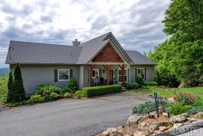 Cashiers Single Family Home For Sale: 216 Cliff Ridge