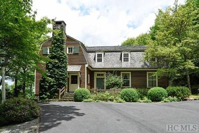 Cashiers, Glenville, Sapphire, Highlands, Scaly Mountain Single Family Home For Sale: 7 Worley Road