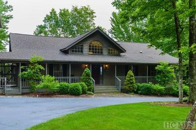 Lake Toxaway Single Family Home For Sale: 154 Panther Ridge Road