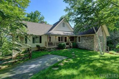 Wildcat Cliffs CC Single Family Home For Sale: 95 Rock Gap Road