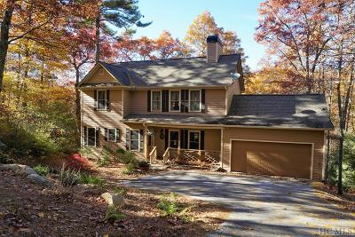 Cashiers Single Family Home For Sale: 252 Woods Summit Lane