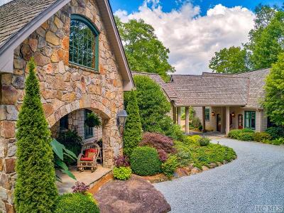 Cashiers, Glenville, Sapphire, Highlands, Scaly Mountain Single Family Home For Sale: 978 West Rochester Drive
