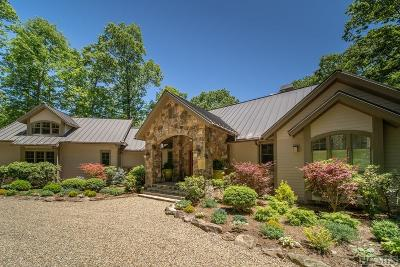 Cashiers, Glenville, Sapphire, Highlands, Scaly Mountain Single Family Home For Sale: 558 Parsons View