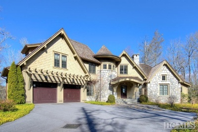 Cashiers, Glenville, Sapphire, Highlands, Scaly Mountain Single Family Home For Sale: 525 High Mountain Drive