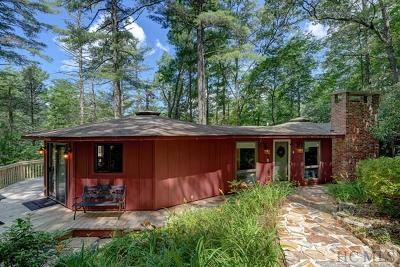 Cashiers Single Family Home For Sale: 135 Decoy Ridge