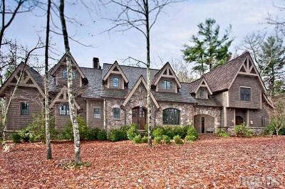 Cashiers, Glenville, Sapphire, Highlands, Scaly Mountain Single Family Home For Sale: 90 Sagee Woods Drive
